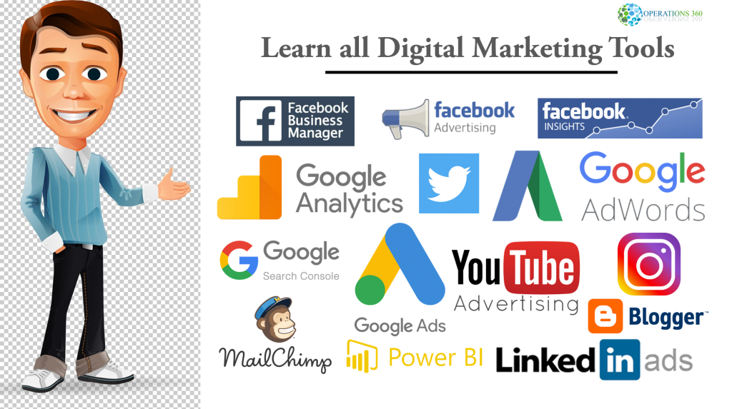 Learn all digital marketing tools and software 2019